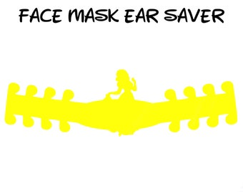 Snow White Face Mask Ear Saver | Disney | Ready to Ship!