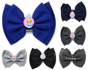Cinderella Hair Bows   Ready to Ship!