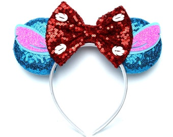 Stitch Minnie Ears | Lilo and Stitch | Ready to Ship!