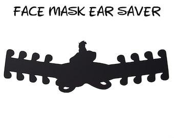 Ursula Face Mask Ear Saver | The Little Mermaid Disney | Ready to Ship!