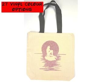 Custom Ariel Tote Bag | Little Mermaid Bag | Disney Tote Bag | Gift for Little Mermaid Fan | Gift for Ariel Fan | Disney World Bag