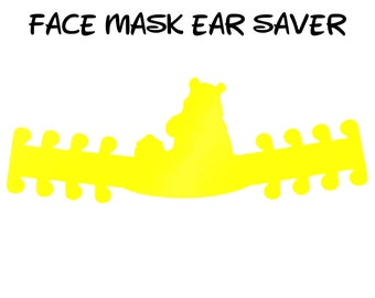 Winnie the Pooh Face Mask Ear Saver | Ready to Ship!
