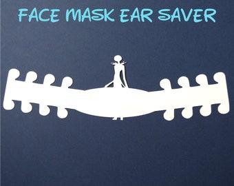 Jack Skellington Face Mask Ear Saver | Nightmare Before Christmas | Ready to Ship