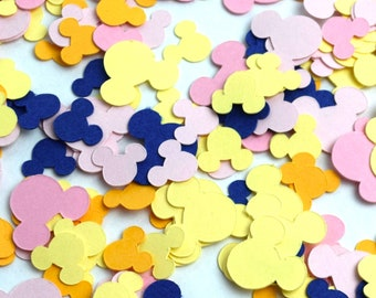 Choose Your Colour Mickey Mouse Confetti   Mickey Confetti   Mickey Mouse Party Supplies   Disney Confetti   Disney Party   Mickey Birthday