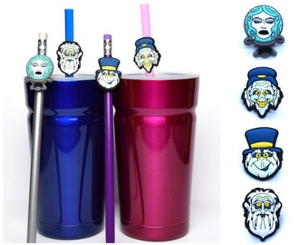 Haunted Mansion Straw Buddies   Madame Leota & Hitchhiking Ghosts   Ready to Ship