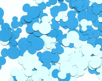 Blue Mickey Mouse Confetti   Gender Reveal Boy Baby Shower Confetti   Mickey Mouse Party   Disney Confetti   Disney Party   Mickey Birthday