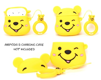 Winnie the Pooh AirPods Case Cover   AirPods & Charging Case NOT Included