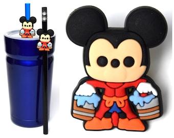 Sorcerer Mickey Straw Buddies | Fantasia Fantasmic Pencil Topper | Ready to Ship!