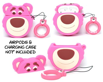 Toy Story Lotso Bear AirPods Case Cover   AirPods & Charging Case NOT Included