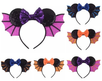Sequin Mickey Mouse Minnie Ears   Ready to Ship!