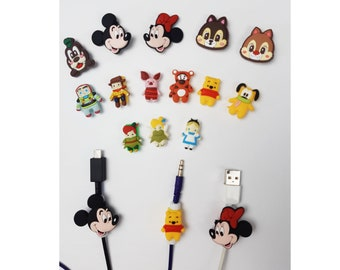 Disney Cable Protectors Set 2 | Android iPhone cables