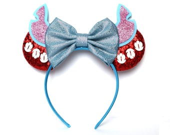 Stitch Minnie Ears   Lilo and Stitch   Ready to Ship!
