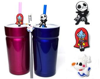 Nightmare Before Christmas Straw Buddies | Jack Skellington Pencil Topper | Sally | Zero | Ready to Ship!
