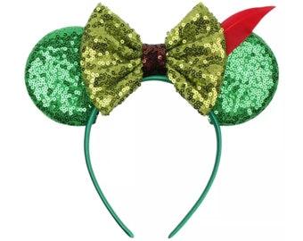 Peter Pan or Robin Hood Minnie Ears