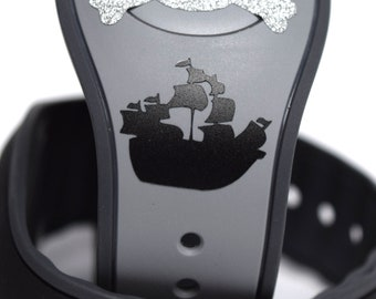 MagicBand Pirate Ship Decal | MagicBand Pirates of the Caribbean Decal | MagicBand Sticker | MagicBand Ship Decal | MagicBand Pirate Decal
