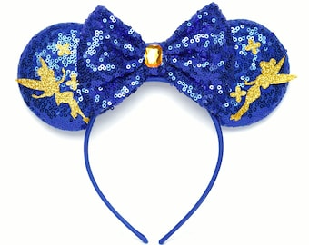 Tinkerbell Minnie Ears | Peter Pan | Ready to Ship!