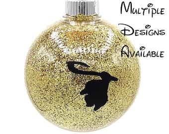 Moana Christmas Tree Ball Ornament | Disney Christmas Tree Ornament | Moana Ornament | Hei Hei Ornament | Pua Ornament | Maui Ornament