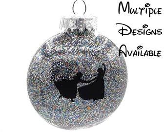 Frozen Christmas Tree Disc Ornament | Disney Christmas Tree Ornament | Frozen Ornament | Elsa Ornament | Anna Ornament | Olaf Sven