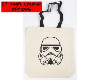 Custom Star Wars Tote Bag | Storm Trooper Bag | Disney Tote Bag | Gift for Star Wars Fan | Galaxy's Edge | Disney World Bag | Disneyland Bag