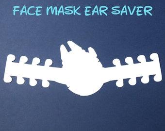 Millennium Falcon Face Mask Ear Saver | Star Wars | Ready to Ship!