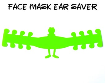 Kermit Face Mask Ear Saver | The Muppets | Ready to Ship!