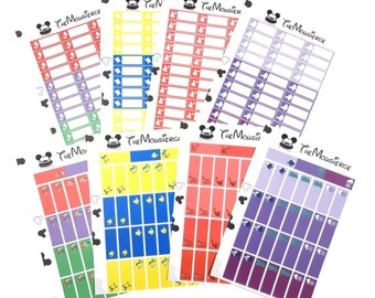 Little Mermaid Planner Stickers 2 | Erin Condren | For LifePlanners Organizers Journals | Ariel Flounder Ursula | Permanent and Removable
