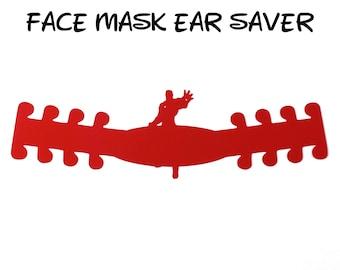 Iron Man Face Mask Ear Saver | Marvel Avengers | Ready to Ship