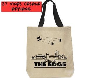 Custom Galaxy Edge Tote Bag   Star Wars Bag   Disney Tote Bag   Gift for Star Wars Fan   Galaxy's Edge   Disneyland Bag