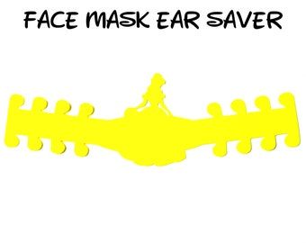 Belle Face Mask Ear Saver | Beauty and the Beast | Ready to Ship!