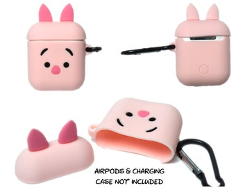 Piglet AirPods Case Cover | AirPods & Charging Case NOT Included | Winnie the Pooh