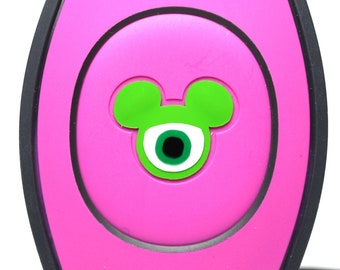 Mike Wazowski MagicBand Decal | Disney Monsters Inc Magic Band Sticker | Disney World Trip Accessories | Vinyl Decal | Custom Decoration