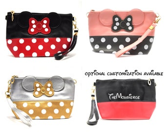 Minnie Mouse Clutch   Minnie Mouse Cosmetic Bag   Minnie Mouse Pencil Case   Disney Clutch   Disney Cosmetic Bag   Disney Pencil Case