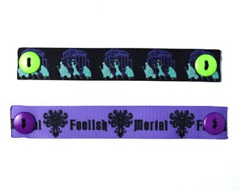 2 Haunted Mansion Face Mask Ear Savers | Ready to Ship!