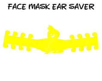 Rapunzel Face Mask Ear Saver | Disney Tangled | Ready to Ship!