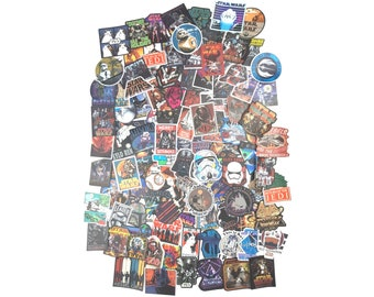 Star Wars Stickers | Vinyl Sticker for Laptop, Scrapbook, Phone, Luggage, Journal, Party Decoration | Disney Characters | Assorted Stickers