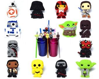 Star Wars Straw Buddies | Ready to Ship!