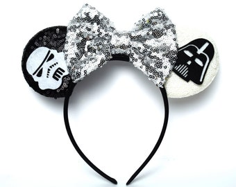 Star Wars Minnie Ears | Darth Vader & Stormtrooper | Ready to Ship!