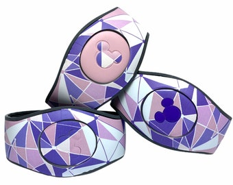 Tomorrowland Purple Wall MagicBand 2.0 Skin