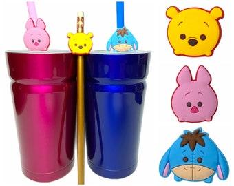 Disney Tsum Tsum Straw Buddies | Mickey, Minnie, Donald, Daisy, Pluto, Elsa, Alien, Stitch, Angel, Dumbo Pencil Topper | Ready to Ship