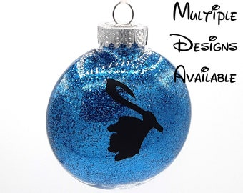 Moana Christmas Tree Disc Ornament | Disney Christmas Tree Ornament | Moana Ornament | Hei Hei Ornament | Pua Ornament | Maui Ornament