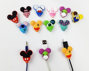 Disney Balloon Cable Protectors | Android iPhone cables | Assorted Cable Protector