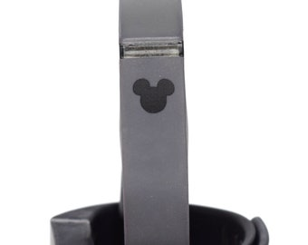 Fitbit or Apple Watch Mickey Mouse Decal | Custom Disney Band Decoration