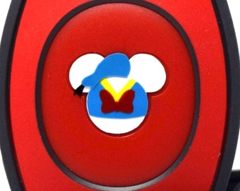 Donald Duck MagicBand 2.0 Mickey Decal | Character Magic Band Decal | Disney World Trip Vinyl Sticker | Wrist Band Decoration for WDW