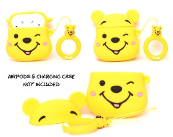 Winnie the Pooh AirPods Case Cover | AirPods & Charging Case NOT Included