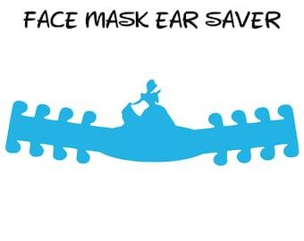Cinderella Face Mask Ear Saver | Ready to Ship!