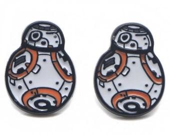 Star Wars BB8 Earrings   Star Wars Earrings   Disney Earrings   Galaxy's Edge Earrings   Star Wars Jewelry   Disney Jewelry   BB8 Jewelry