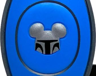 Mandalorian MagicBand 2.0 Decal | Star Wars Magic Band Magic Band Decal | Disney World Trip Vinyl Sticker | Wrist Band Decoration for WDW