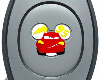 Lightning McQueen MagicBand 2.0 Decal   Cars Magic Band Decal   Disney World Trip Vinyl Sticker