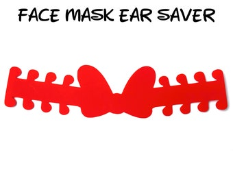 Minnie Bow Face Mask Ear Saver   Plastic Mask Extender   Disney Ear Protector   Adjustable Adapter   Mask Clips   Mouse   Ready to Ship