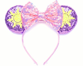 Rapunzel Minnie Ears | Tangled | Ready to Ship!